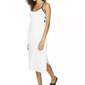 Microterry Juicy Couture lace slip dress